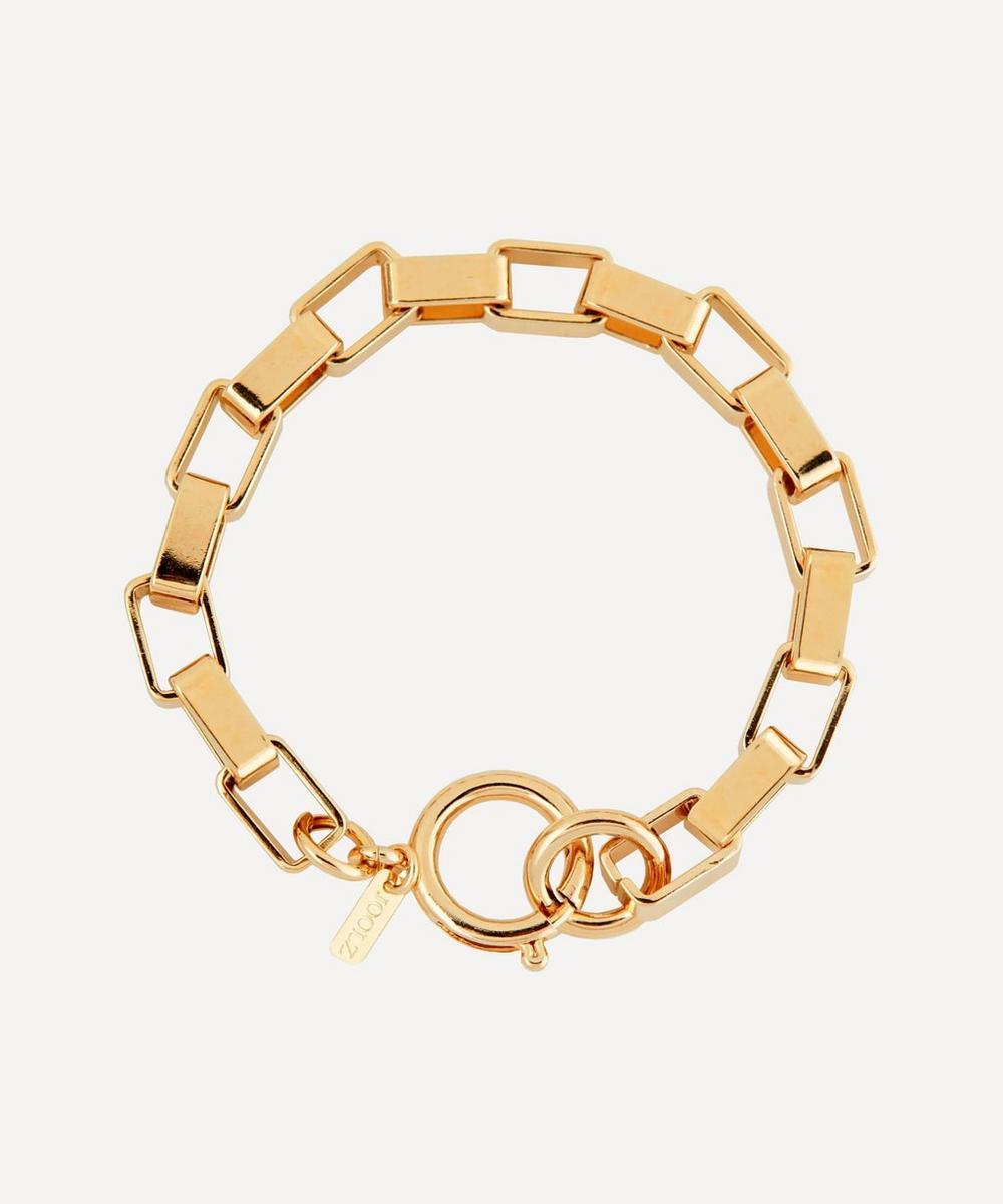 Martha Calvo - Gold-Plated Boxer Chain Bracelet
