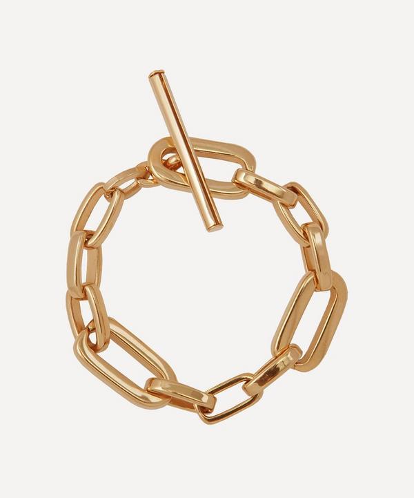 Martha Calvo - Gold-Plated Elle Chain Bracelet