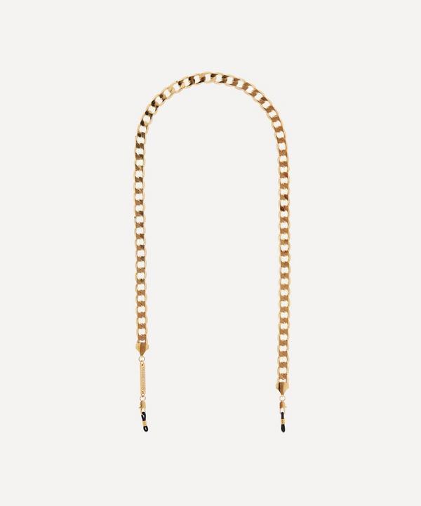Frame Chain - Gold-Plated Eyefash Glasses Chain