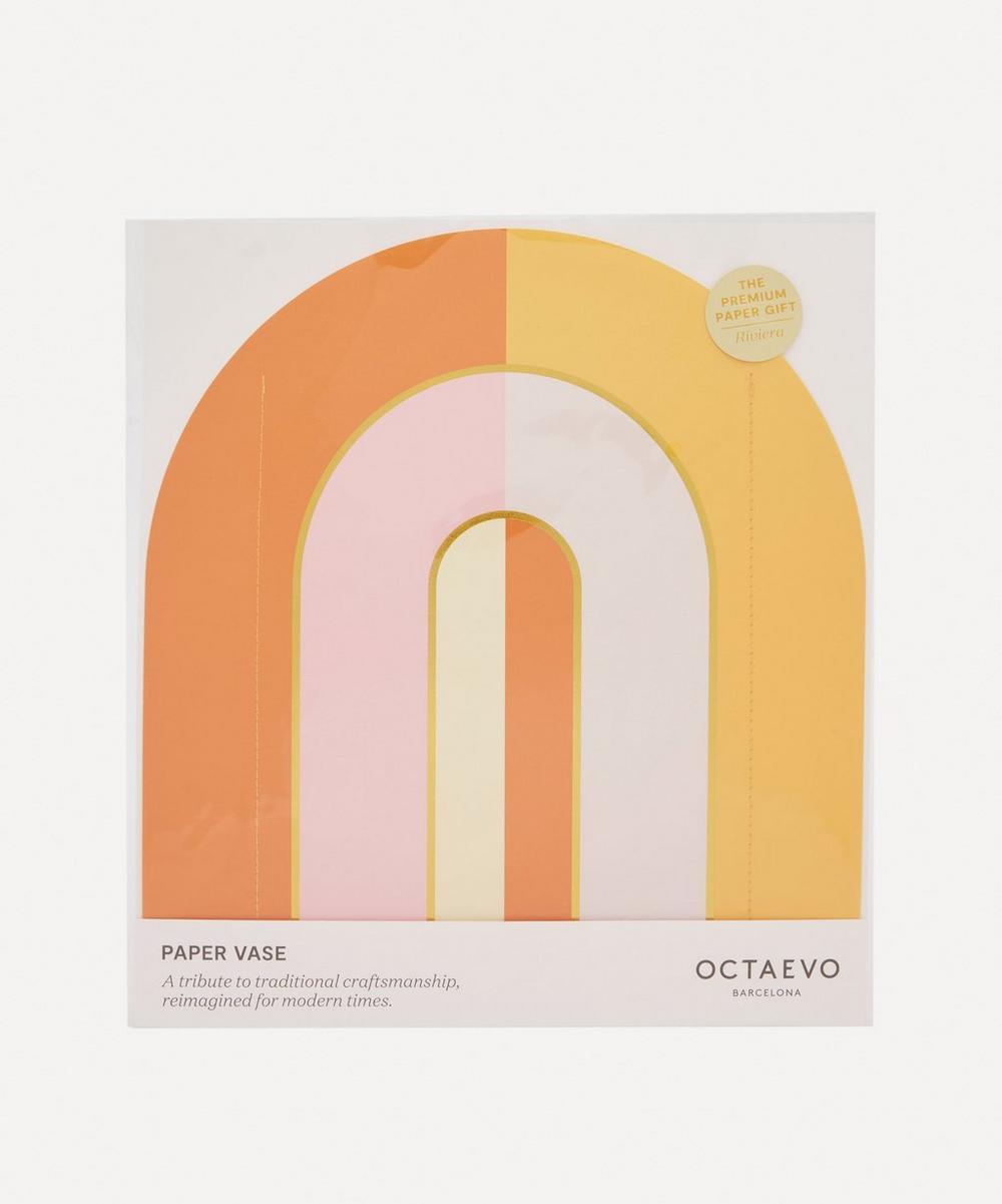 Octaevo - Riviera Arch Paper Vase