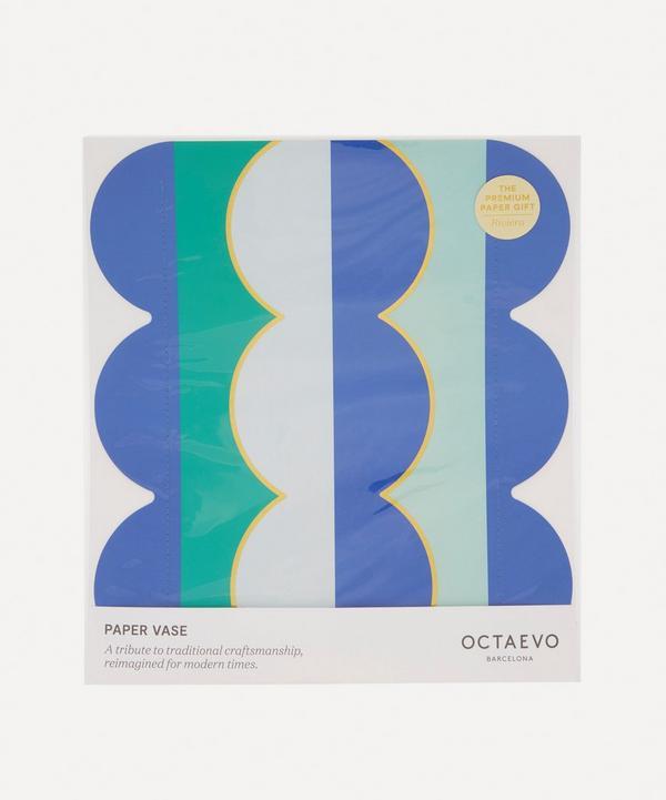 Octaevo - Riviera Wave Paper Vase