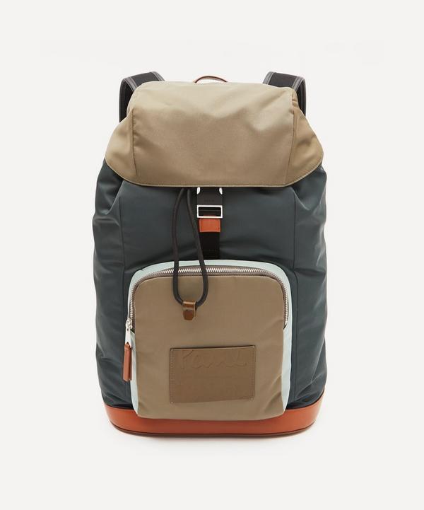 Paul Smith - Colour Block Nylon Backpack