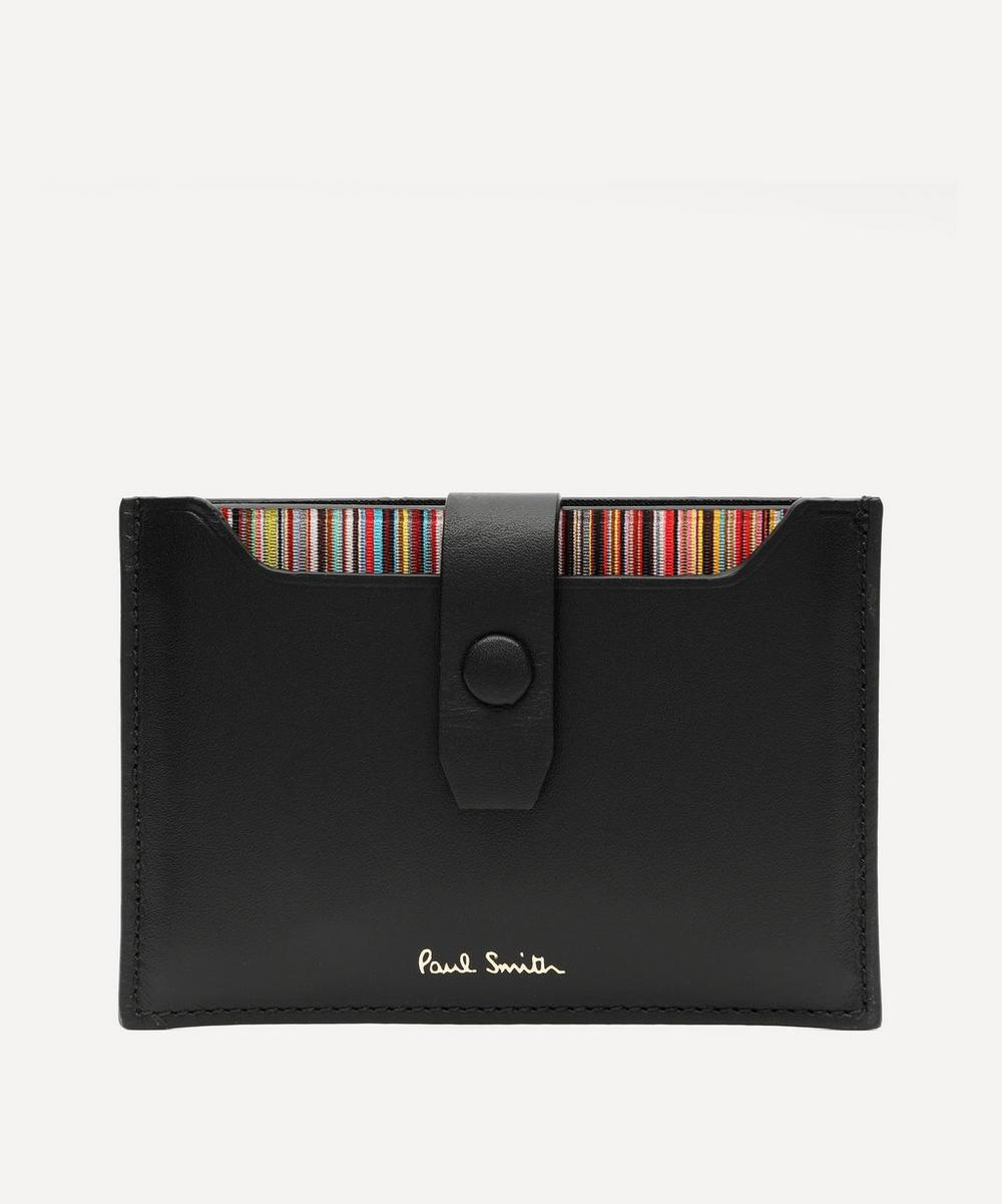 Paul Smith - Signature Stripe Pull-Out Card Holder