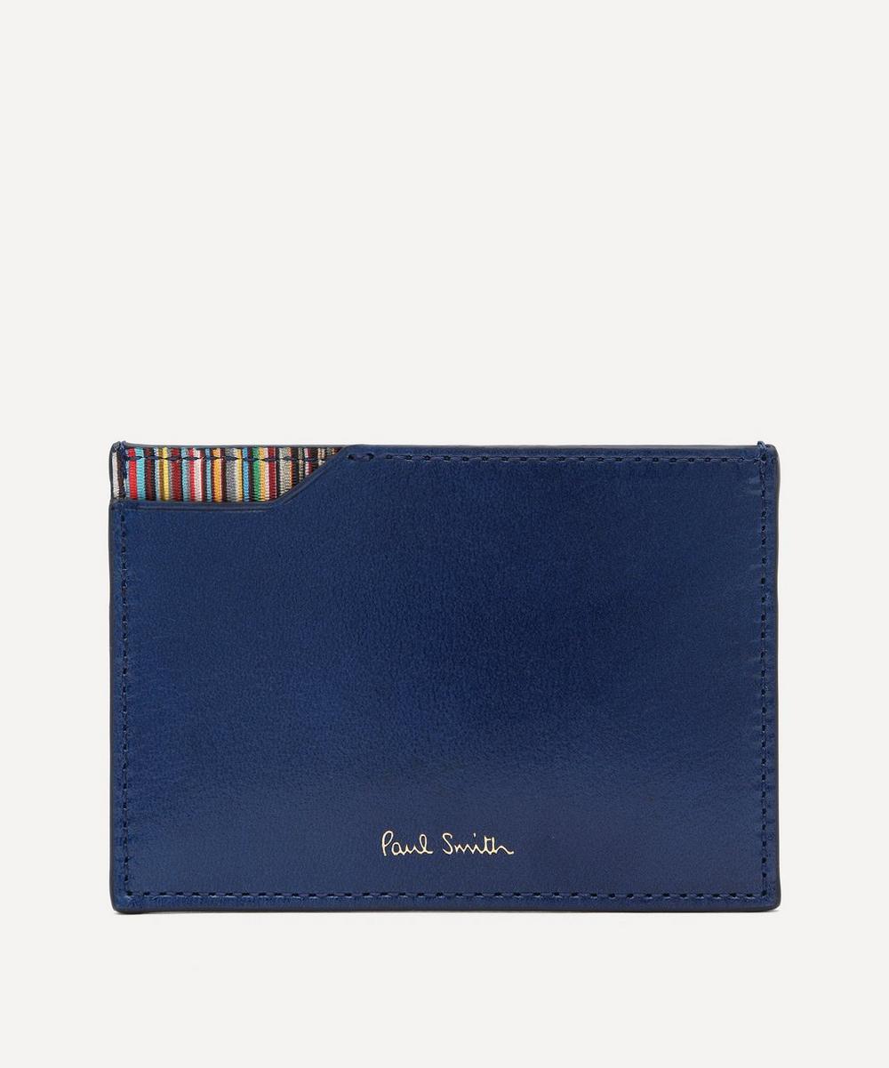 Paul Smith - Signature Stripe Corner Card Holder