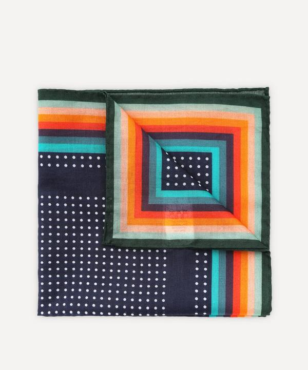 Paul Smith - Dot and Stripe Pocket Square