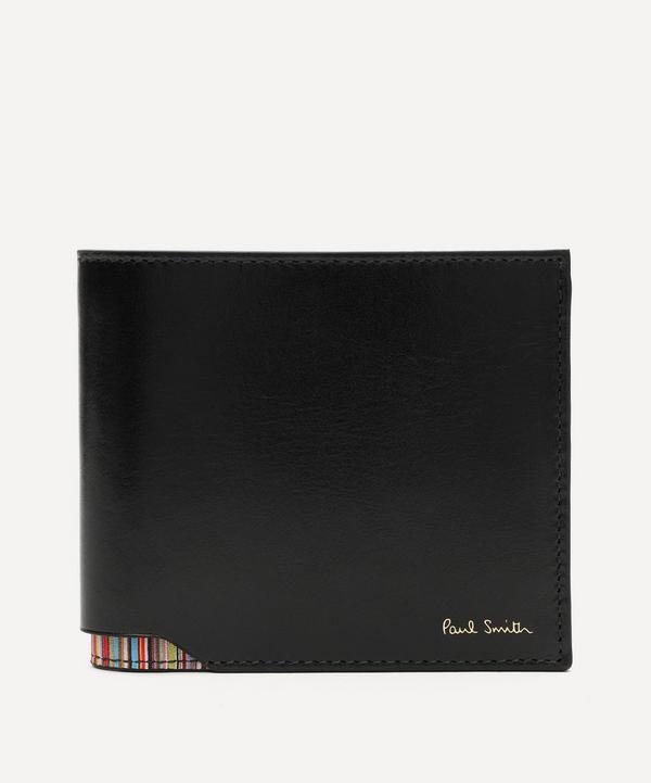 Paul Smith - Leather Signature Stripe Corner Wallet