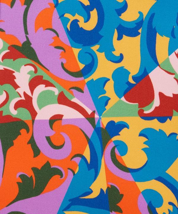 Liberty Fabrics - Rococo Scrolls Silk Satin