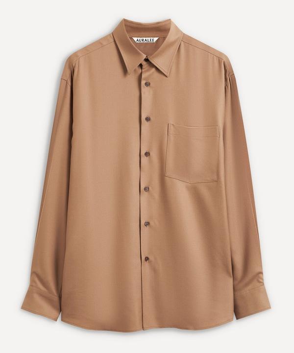 Auralee - Super Light Wool Shirt