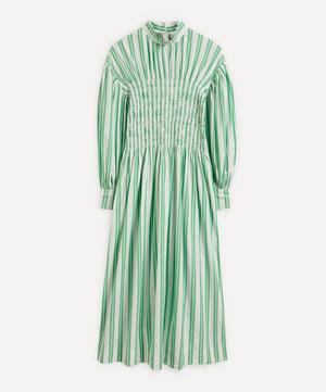 Stripe Organic Cotton Smock Dress