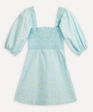 Smocked Bodice Mini-Dress