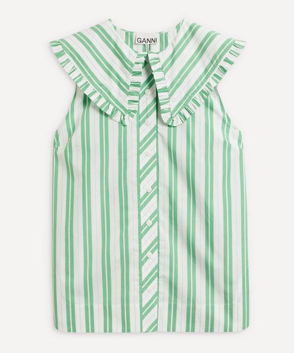 Ganni - Kelly Stripe Cotton Shirt