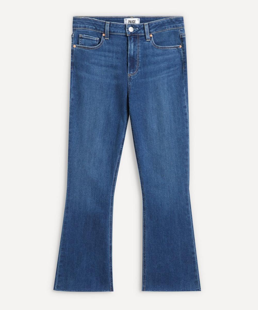 Paige - Colette Crop Flare Jeans