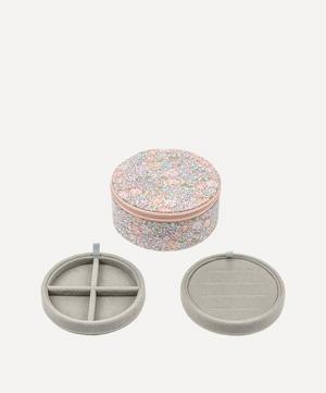 Michelle Liberty Print Round Jewellery Box