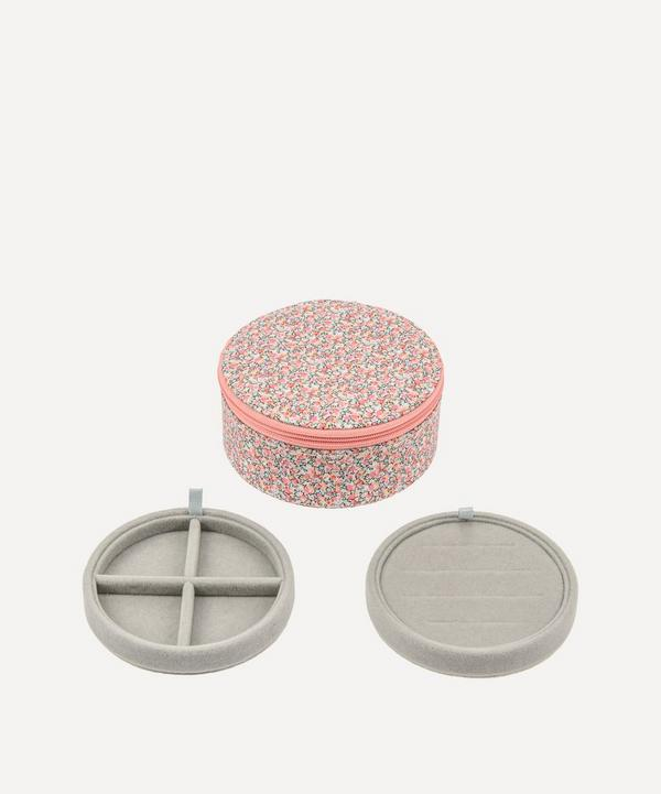 Bon Dep - Pepper Liberty Print Round Jewellery Box