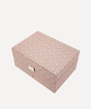 Pepper Liberty Print Square Jewellery Box