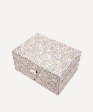 Michelle Liberty Print Square Jewellery Box