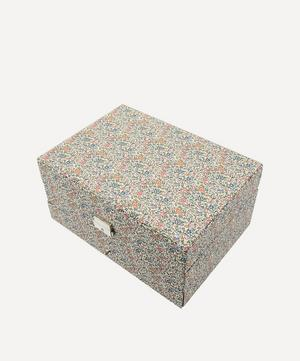 Katie and Millie Liberty Print Square Jewellery Box