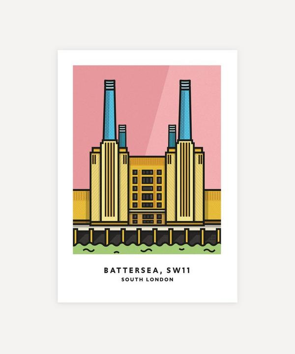 Chin Chin Prints - Battersea Unframed Print