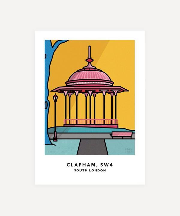 Chin Chin Prints - Clapham Unframed Print