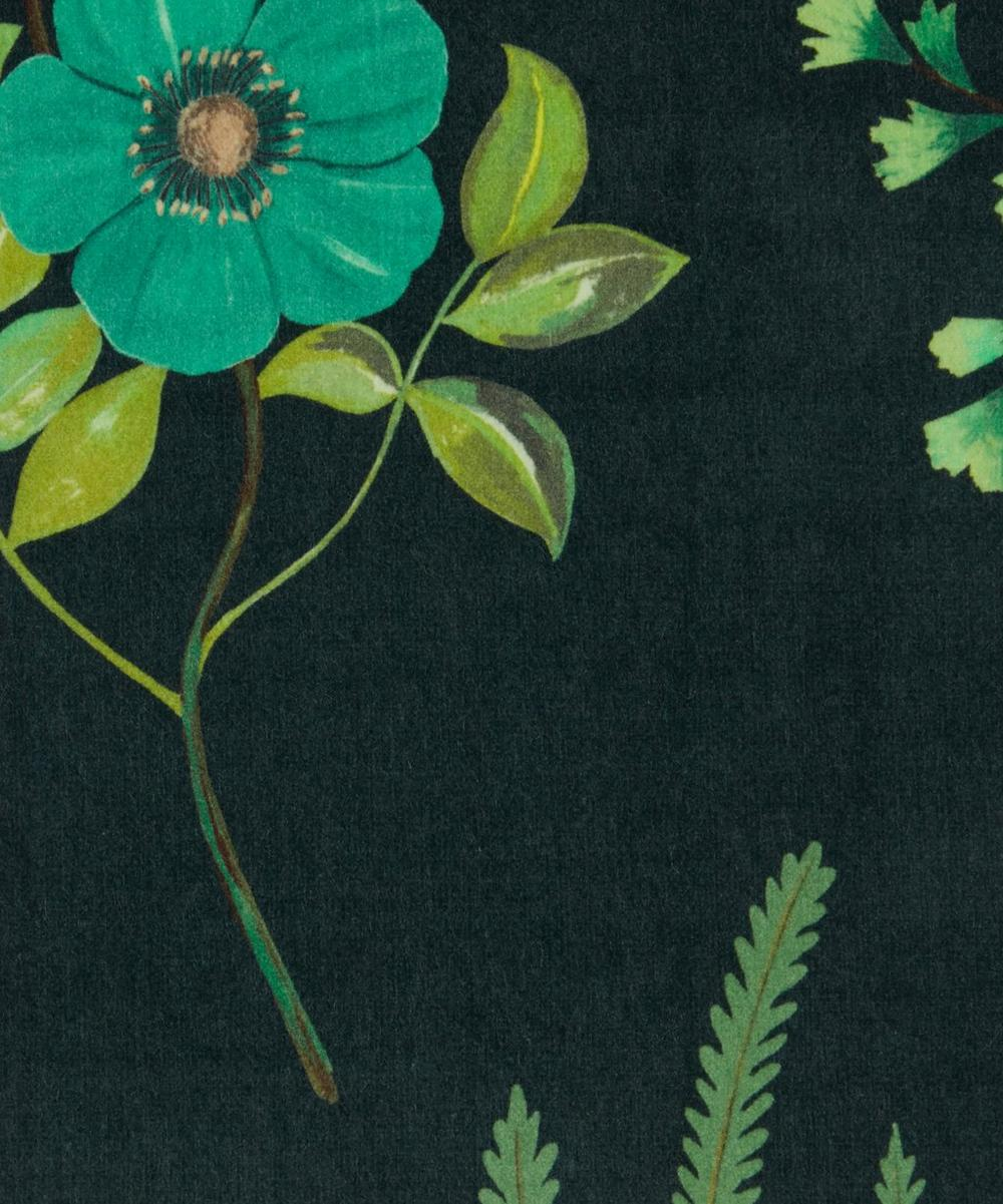 Liberty Interiors - Botanical Flora Wellington Velvet in Jade