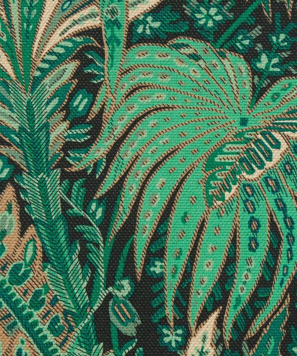 Liberty Interiors - Persian Voyage Amersham Linen-Blend in Jade