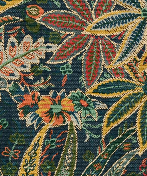 Liberty Interiors - Persian Voyage Amersham Linen-Blend in Lichen