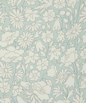 Poppy Meadow Wallpaper in Salvia