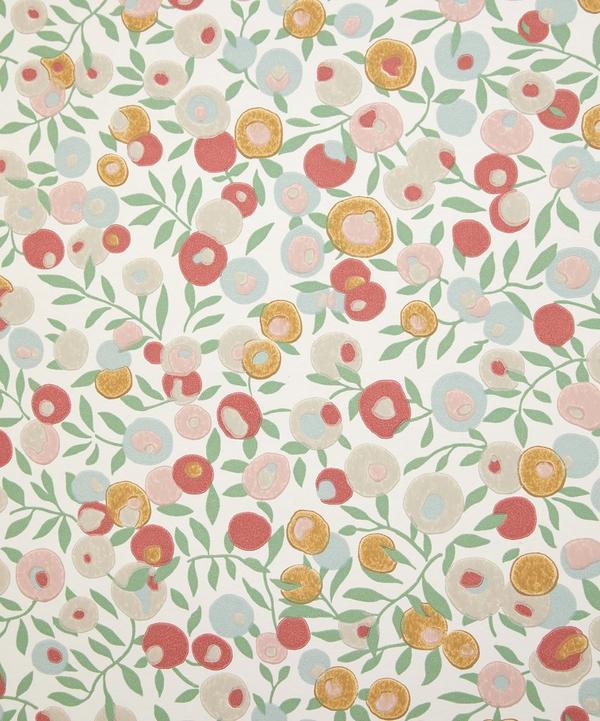 Liberty Interiors - Wiltshire Blossom Wallpaper in Fennel