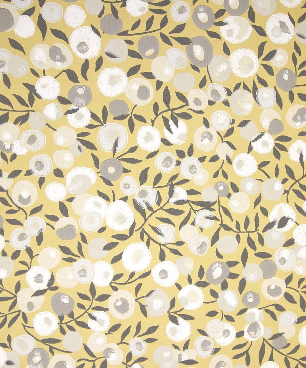 Liberty Interiors - Wiltshire Blossom Wallpaper in Soft Fennel