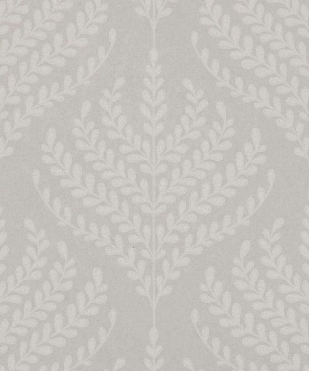 Liberty Interiors - Paisley Fern Wallpaper in Pewter