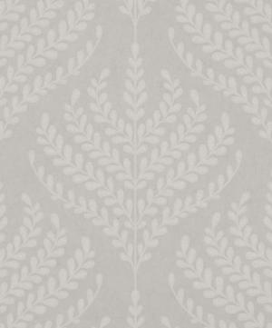 Paisley Fern Wallpaper in Pewter