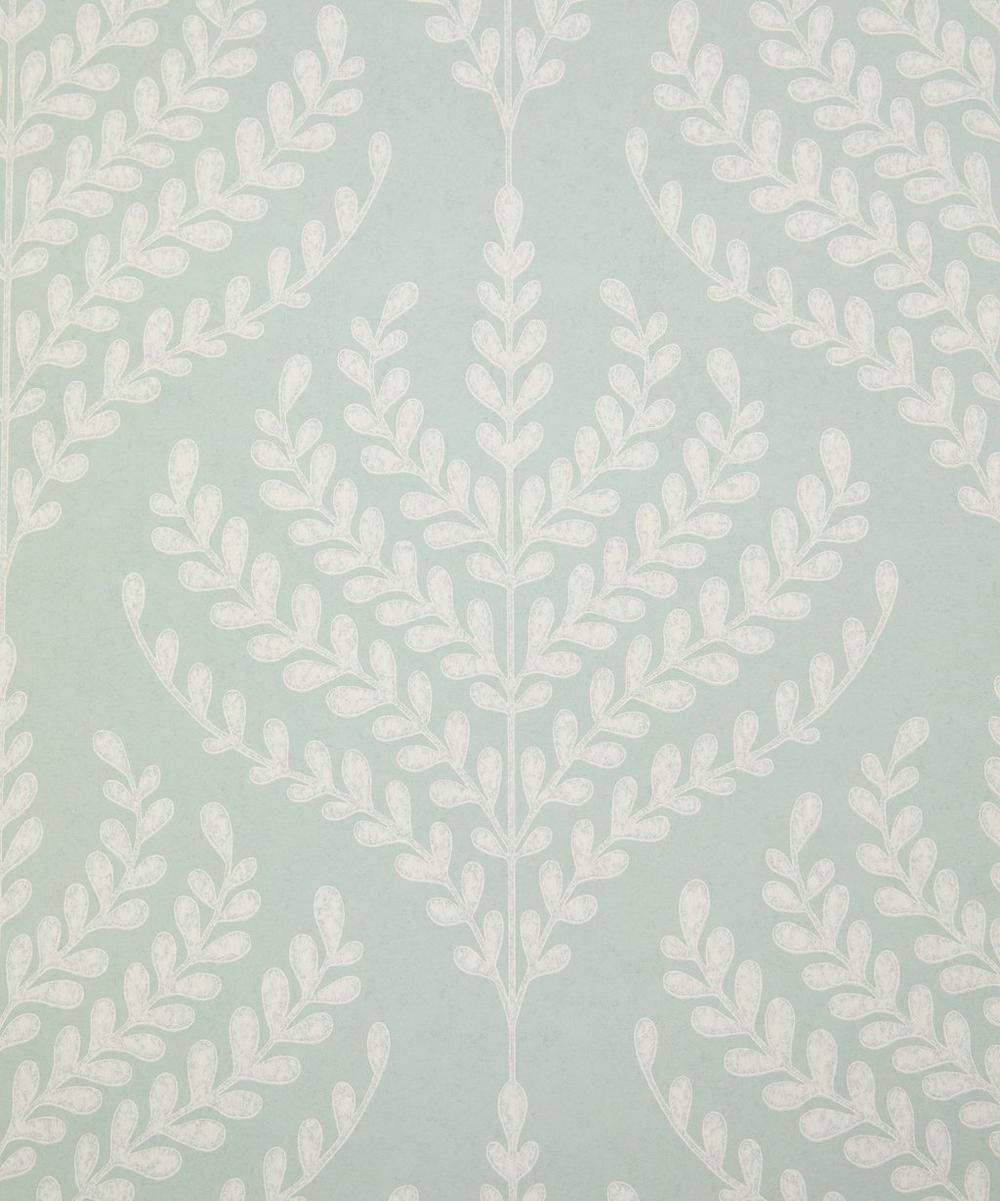 Liberty Interiors - Paisley Fern Wallpaper in Salvia