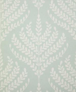 Paisley Fern Wallpaper in Salvia