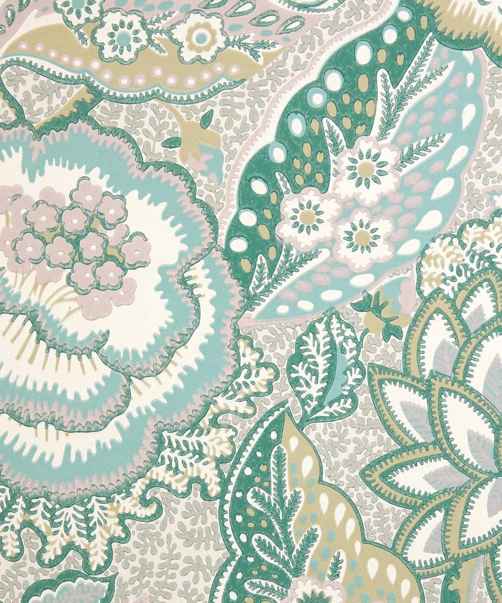 Liberty Interiors - Patricia Wallpaper in Jade