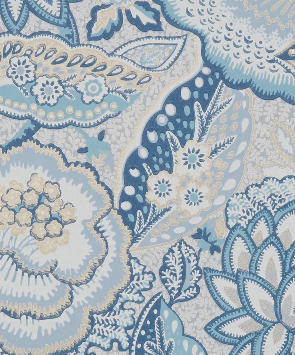 Liberty Interiors - Patricia Wallpaper in Lapis