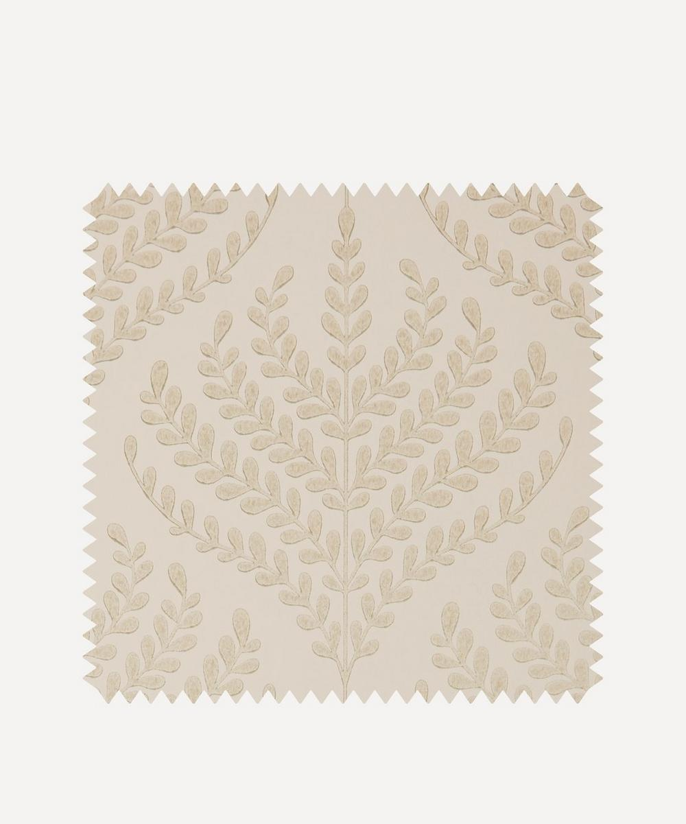 Liberty Interiors - Wallpaper Swatch - Paisley Fern in Ointment
