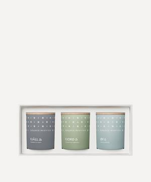 EXPLORE Mini Candle Gift Set 3 x 65g