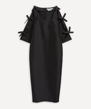 Chloe Taffeta Square-Neck Dress