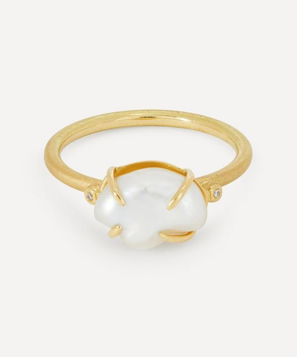 Brooke Gregson - 18ct Gold Pearl Cloud Ring