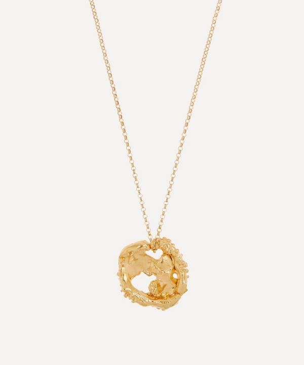 Alighieri - Gold-Plated The Craters We Know Pendant Necklace