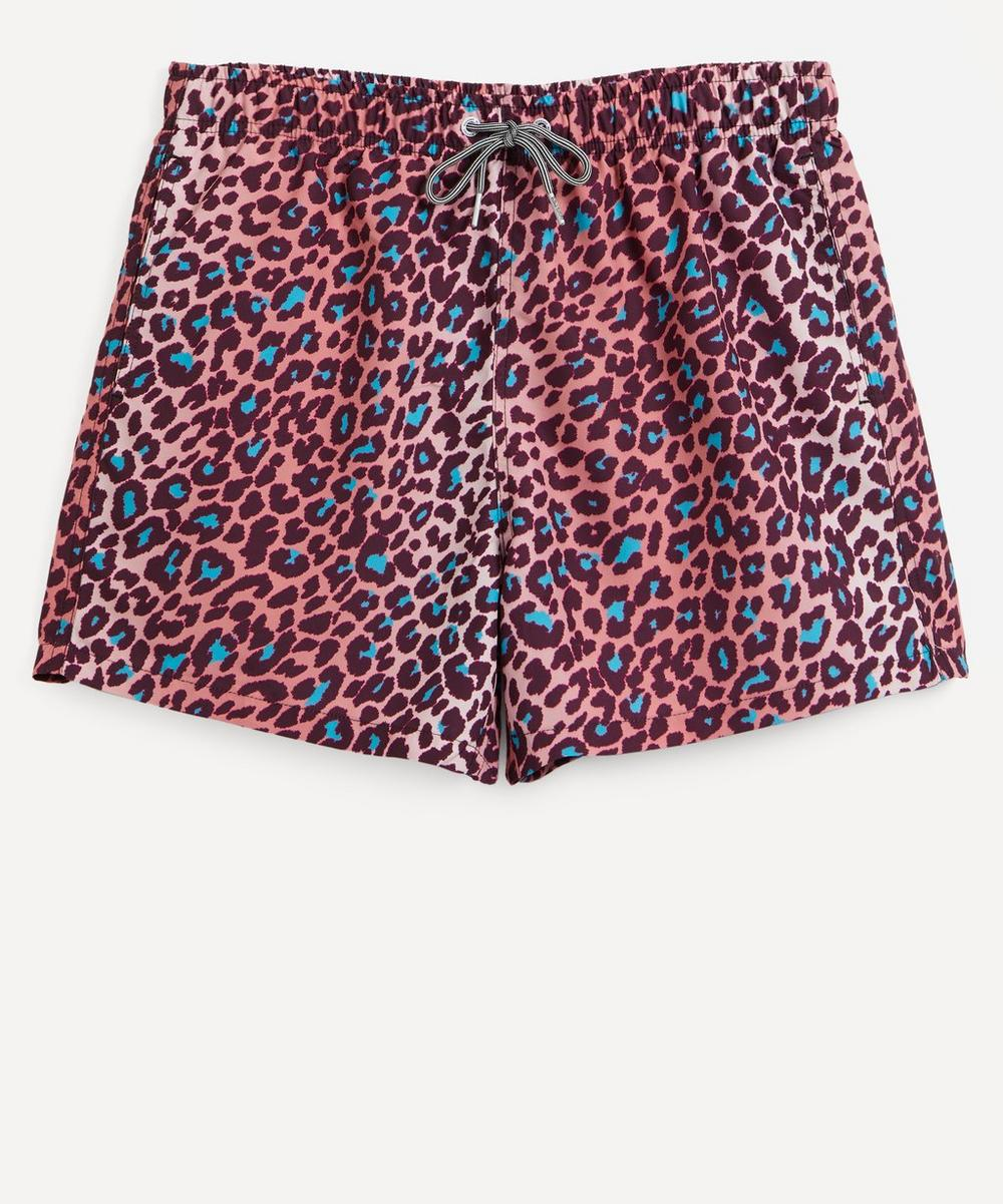 Boardies - Leopard Swim Shorts
