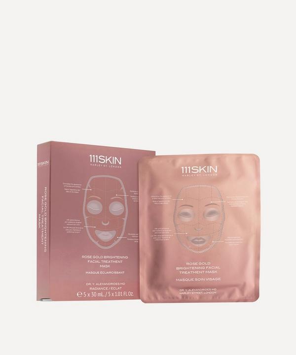 111SKIN - Rose Gold Brightening Facial Treatment Mask 5 x 30ml