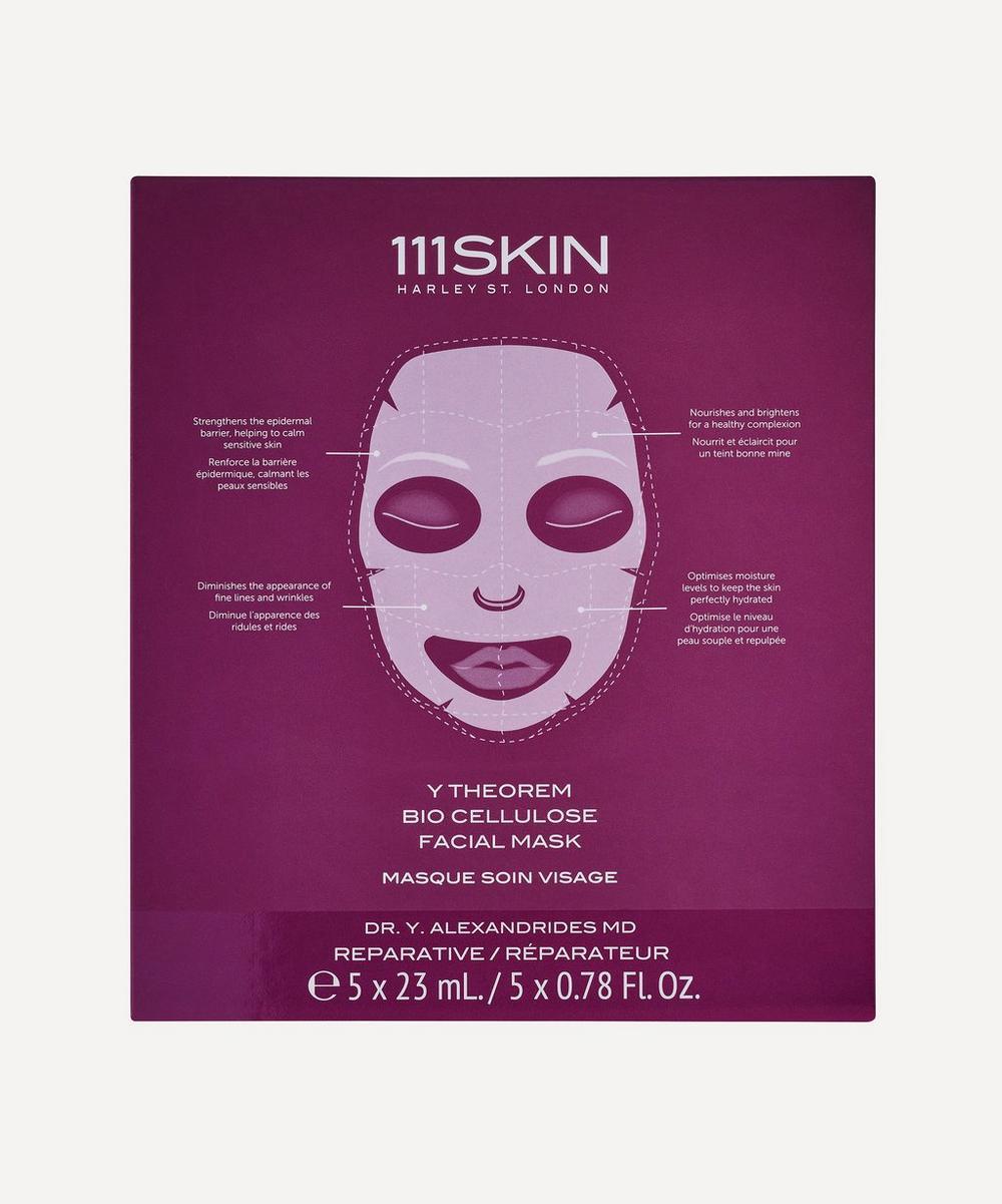 111SKIN - Y Theorem Bio Cellulose Facial Masks Box of 5