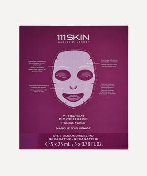 Y Theorem Bio Cellulose Facial Masks Box of 5
