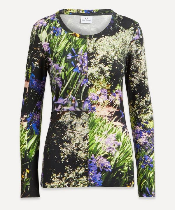 PS Paul Smith - Agapanthus Print T-Shirt