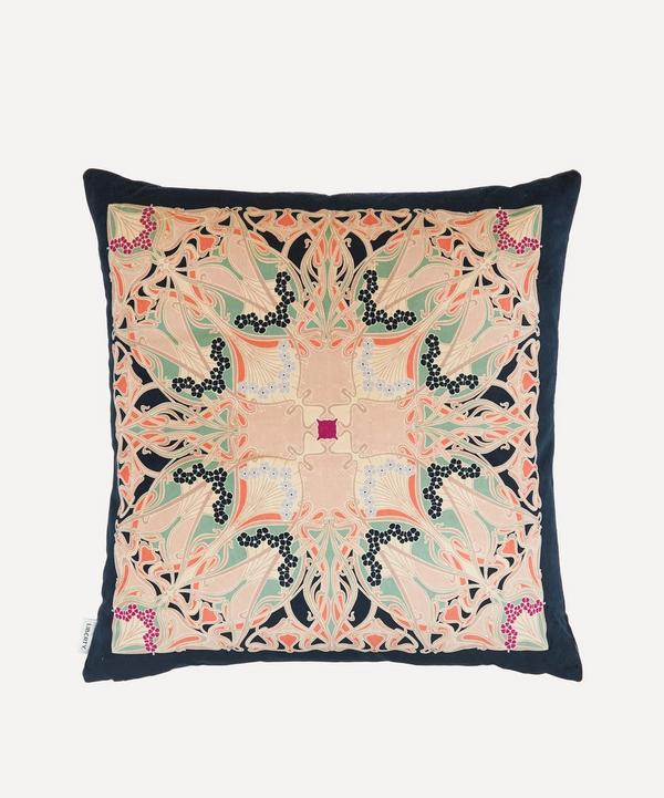 Liberty - Ianthe Square Velvet Cushion