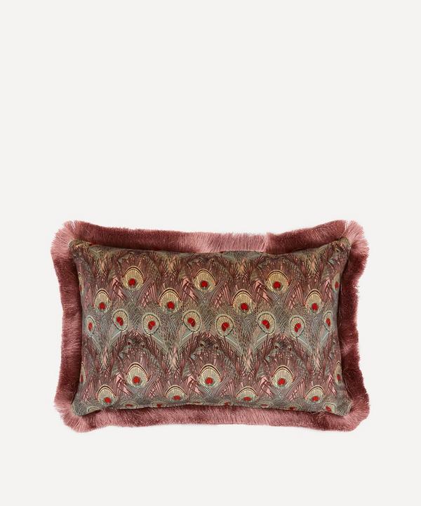 Liberty - Hera Fringed Velvet Cushion