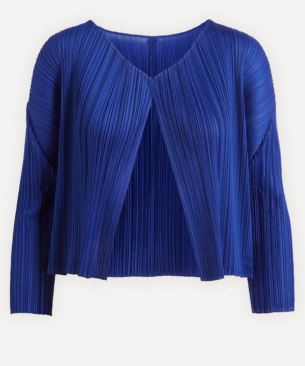 Pleats Please Issey Miyake - May Monthly Colours Cardigan