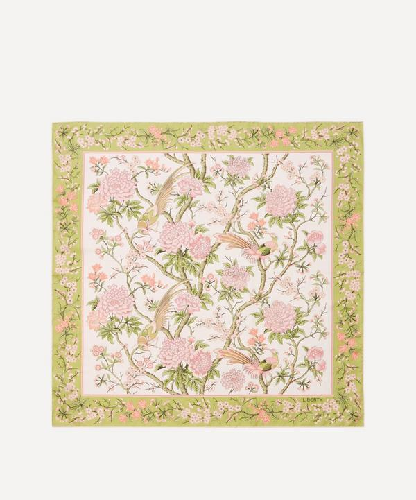 Liberty - Elysian Paradise 90 x 90cm Silk Twill Scarf