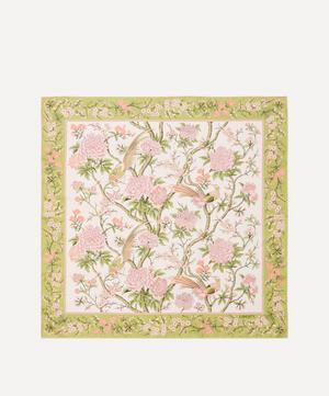 Elysian Paradise 90 x 90cm Silk Twill Scarf